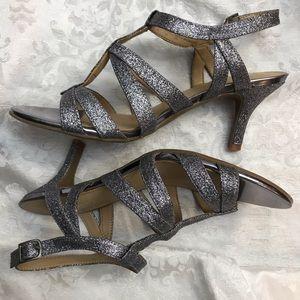 EUC Natrualizer - Sliver Butterfly Heels